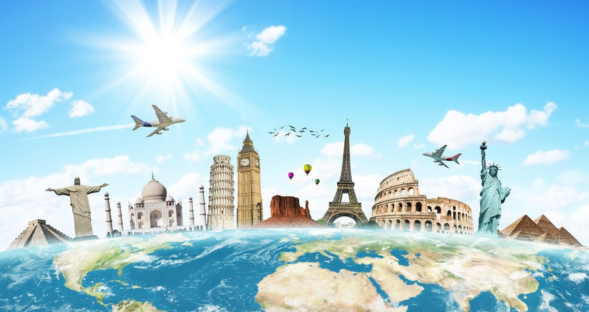 Image processing for travel website