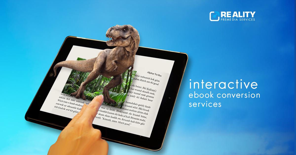 Interactive e-book conversion Services