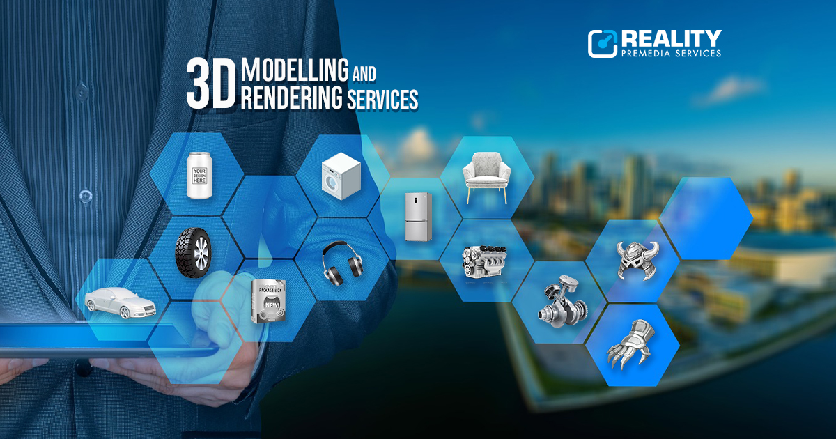 Product 3D modelling services