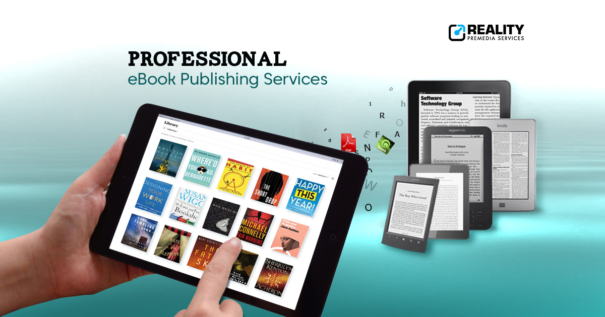 ebook Publishing services