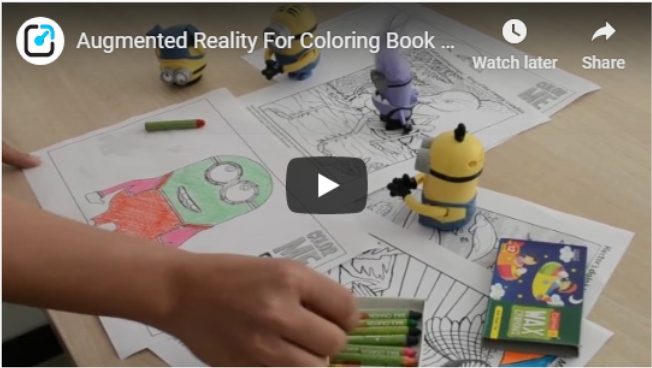 Augmented reality for Color Book Publishing - Reality Premedia